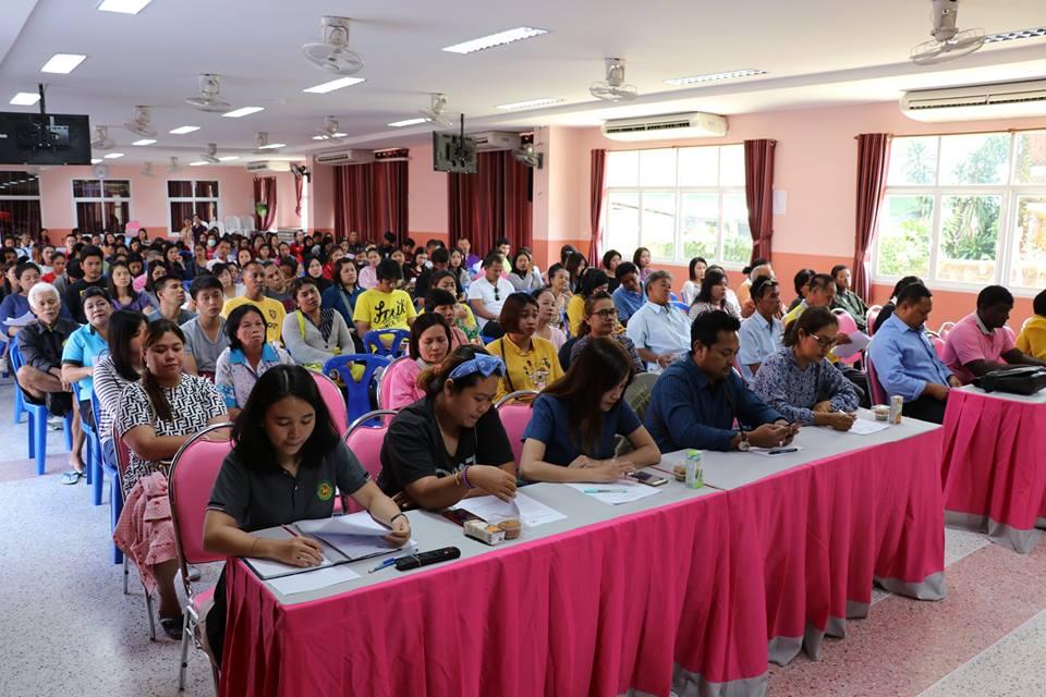 ประชุมพบปะผู้ปกครองสัญจร ครั้งที่ 4/2561 อนุบาล 2