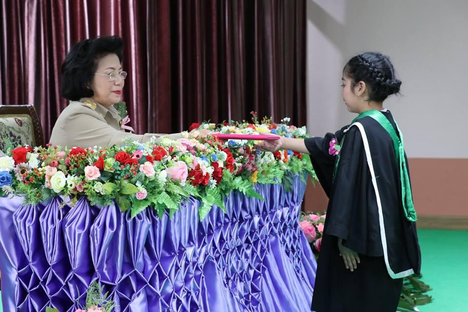 พิธีมอบวุฒิบัตรนักเรียนที่สำเร็จการศึกษา ประจำปีการศึกษา 2561