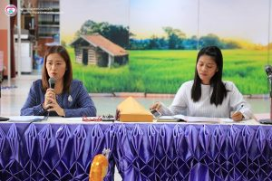 ประชุมครูและบุคลากร ประจำเดือนกันยายน – ตุลาคม 2562