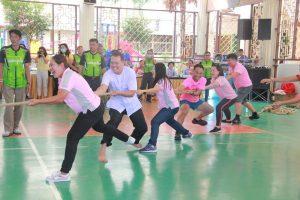 การแข่งขันกีฬาชมรมผู้ปกครองโรงเรียนในสังกัด ทน.ภูเก็ต
