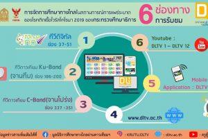 6 ช่องทางการรับชม DLTV