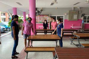 พัฒนาอาคารสถานที่และเตรียมความพร้อมการเปิดภาคเรียน