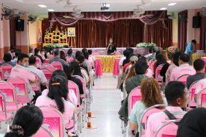 ประชุมคัดเลือกคณะกรรมการบริหารชมรมผู้ปกครอง รุ่นที่ 11