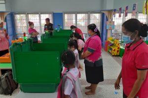 กิจกรรมสภาจิ๋วส่งเสริมประชาธิปไตยในโรงเรียน ปีการศึกษา 2563